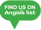 Find Us On Angie's List - transparent background