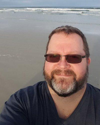 Doug Sinning at Beach